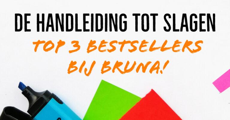 De Handleiding tot Slagen top 3 bestsellers bij bruna